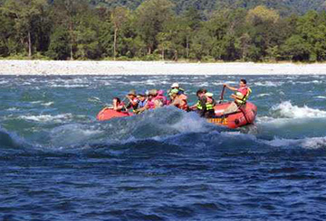 River rafting, Manas National Park