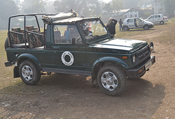 Jeep Safari, Manas National Park
