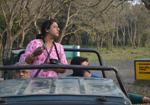 Jeep Safari Kaziranga National Park