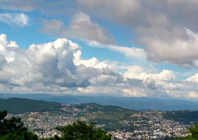Shillong peak tourist attraction in Shillong