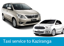 Self drive car and taxi service to kaziranga